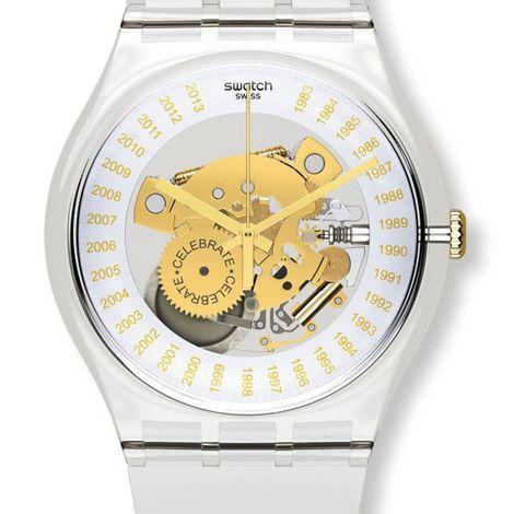 La montre anniversaire des 30 ans de Swatch (swatch)