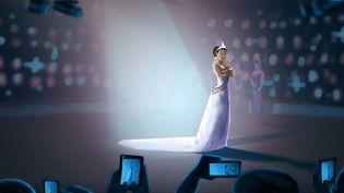 La légitimité descandidates au concours Miss France,noires, arabes et asiatiques, est remise en question en raison de leur couleur de peau. (PIERRE-ALBERT JOSSERAND/FRANCEINFO)