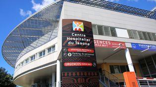 Le centre hospitalier de Taaone à Papeete, en Polynésie française, le 21 juillet 2021. (GREGORY BOISSY / AFP)