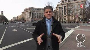 Jacques Cardoze, correspondant de France Télévisions aux États-Unis. (FRANCE 2)