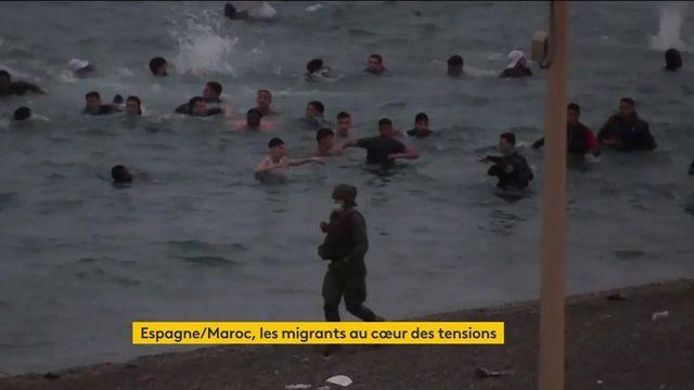 Les migrants marocains affluent dans l'enclave espagnole de Ceuta