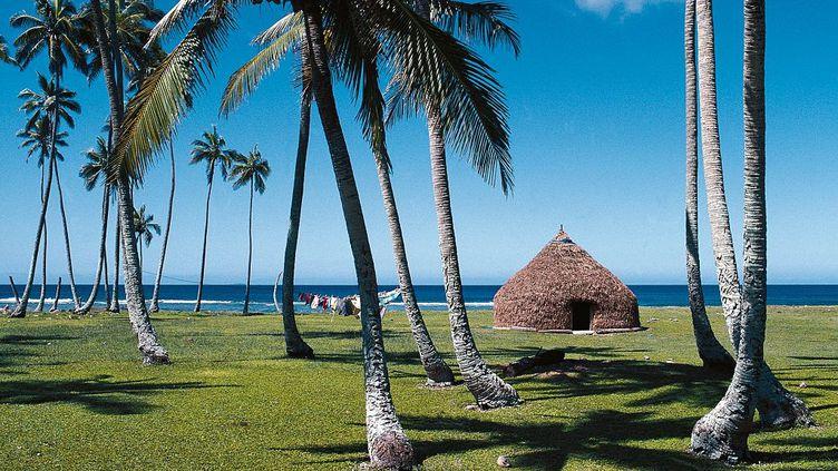 Nouvelle-Calédonie. Les Iles Loyauté et leurs plages paradisiaques comme ici sur l'ïle de Lifou. Plus de bateau de croisière jusque fin mars. (DE AGOSTINI VIA GETTY IMAGES)