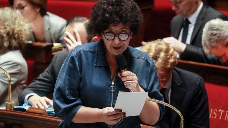 La ministre de l'Enseignement supérieur, Frédérique Vidal, à l'Assemblée nationale, le 25 février 2020. (LUDOVIC MARIN / AFP)