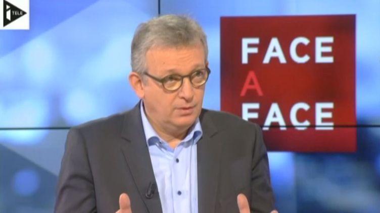 Pierre Laurent, le secrétaire national du Parti communiste, le 29 novembre 2013 sur i-Télé. (I-TELE / FRANCETV INFO)