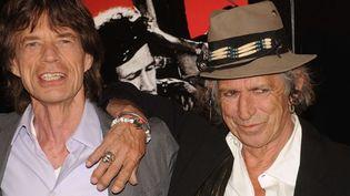 Mick Jagger et Keith Richards.  (Kristin Callahan - Newscom - Sipa)