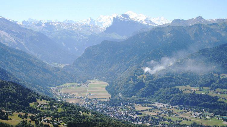 La station de Samoëns, en Haute-Savoie, le 21 juillet 2007 (JF. FREY / MAXPPP)