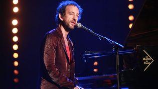 Arthur H au Lalala Festival à Paris (7 juillet 2014)  (Frédéric Dugit / Le Parisien / PhotoPQR / MAXPPP)