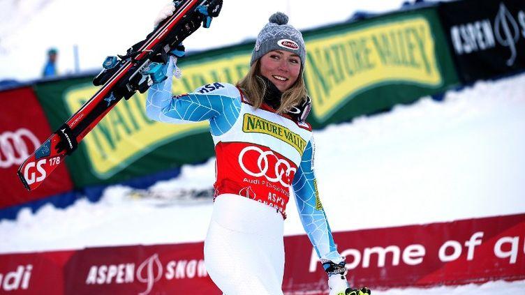 Début de saison tonitruant pour la jeune skieuse américaine de 20 ans, Mikaela Shiffrin. (DOUG PENSINGER / GETTY IMAGES NORTH AMERICA)