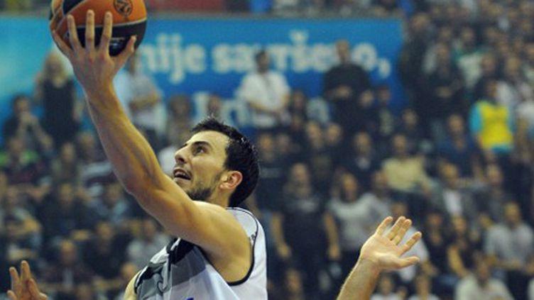 Leo Westermann sous le maillot du Partizan