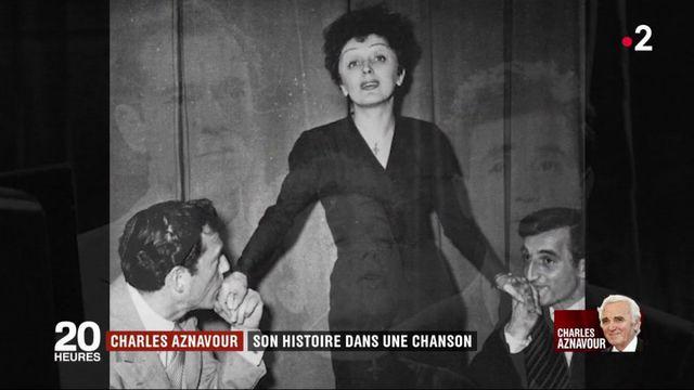 Charles Aznavour : son histoire dans une chanson