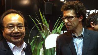Rithy Pahn et Christophe Bataille au Salon du Livre de Paris  (Culturebox)