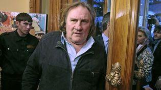 Gérard Depardieu à Moscou en février dernier  (Mikhail Metzel/AP/SIPA)