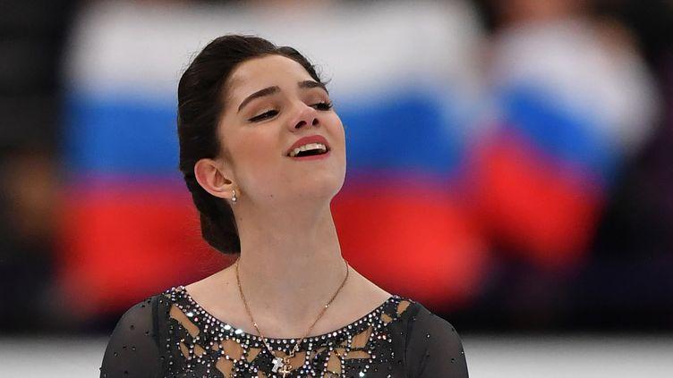 La patineuse russe Evgenia Medvedeva  (DANIEL MIHAILESCU / AFP)