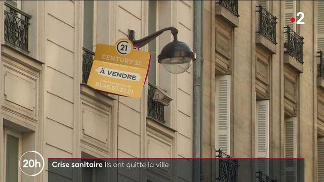 Crise sanitaire : des Parisiens quittent la capitale pour s'installer à la campagne ou à la mer