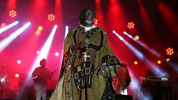 Tiken Jah Fakoly en concert aux Francofolies de La Rochelle. La Rochelle, FRANCE - 15/07/2011./Credit:ROMAIN CHAMPALAUNE/SIPA/1107171419  (ROMAIN CHAMPALAUNE/SIPA)