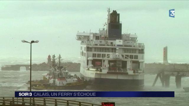 Tempête Ana : reprise du trafic des ferrys à Calais, les passagers pris en charge
