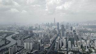Shenzhen en Chine, mercredi 20 septembre 2017. (BLOOMBERG / GETTY IMAGES)