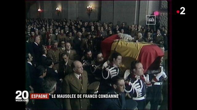 Espagne : le mausolée de Franco condamné