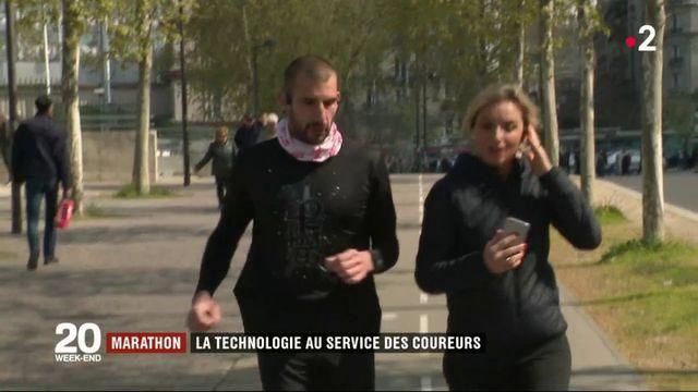 Marathon : la technologie au service des coureurs