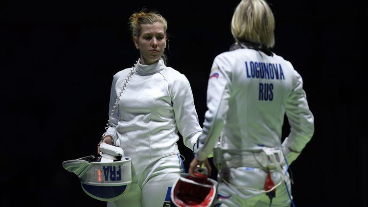 Auriane Mallo et les Françaises se sont imposées de justesse face à la Russie (JULIEN CROSNIER / DPPI MEDIA)