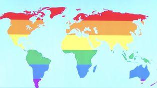 Homophobie : près de 70 pays répriment encore l'homosexualité (FRANCEINFO)