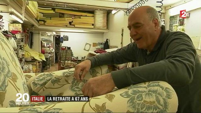 Italie : vers la retraite à 67 ans