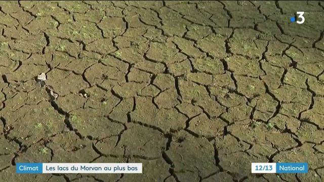 Climat : les lacs du Morvan sont à un niveau très bas