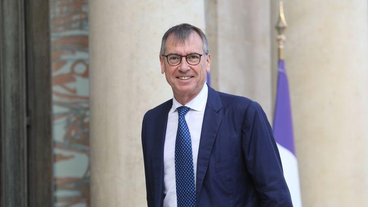 Le président de la Confédération des syndicats médicaux français,Jean-Paul Ortiz, à Paris le 18 septembre 2018. (LUDOVIC MARIN / AFP)