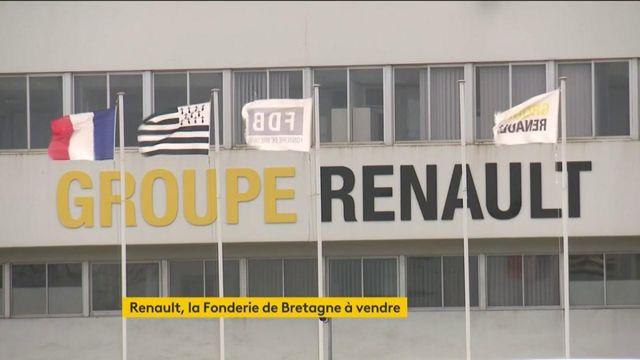 Morbihan : Renault met en vente Fonderie de Bretagne