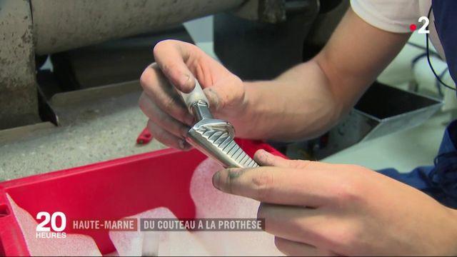 Haute-Marne : du couteau à la prothèse médicale