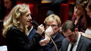 Nicole Belloubetà l'Assemblée nationale, le 13 novembre 2018, à Paris. (THOMAS SAMSON / AFP)