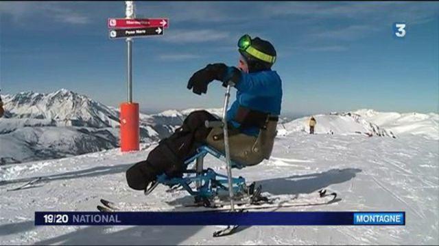 Ski : Peyragudes s'adapte pour accueillir des skieurs en situation de handicap