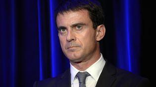 Le Premier ministre Manuel Valls au Salon international de l'Alimentation, à Villepinte (Seine-Saint-Denis), le 20 octobre 2014. (BERTRAND GUAY / AFP)