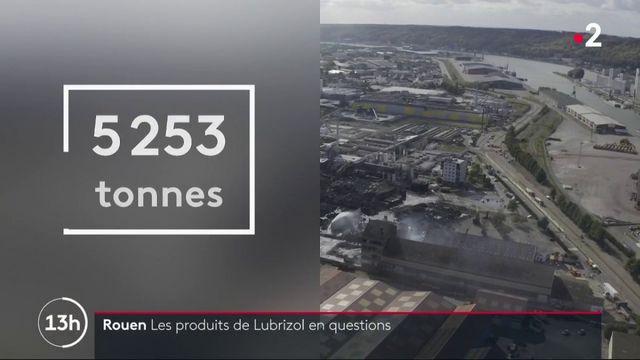 Rouen : les produits de l'usine Lubrizol en questions