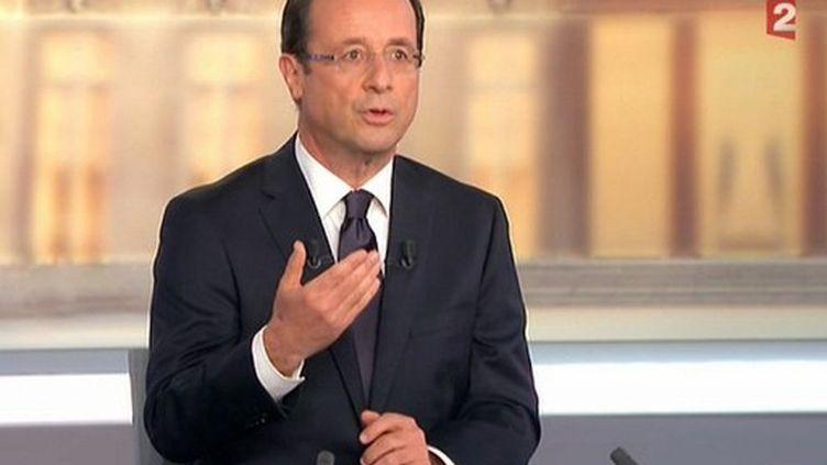 François Hollande (- / FRANCE 2 / AFP)