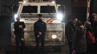 Le procès de Salah Abdeslam s'ouvre à Bruxelles sous très haute sécurité. (EMMANUEL DUNAND / AFP)