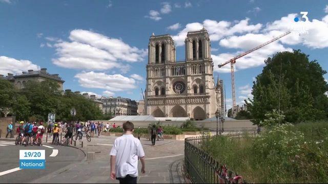 Notre-Dame : le parvis a rouvert