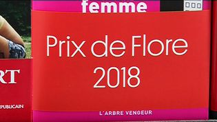 "La bandeau ""Prix de Flore 2018""  (France 3 Culturebox Capture d'écran)"