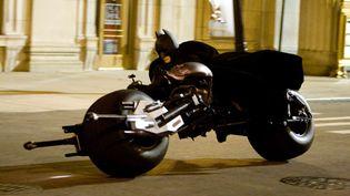 Christian Bale dans le filmThe dark Knight, Le chevalier noir (Warner Bros.)