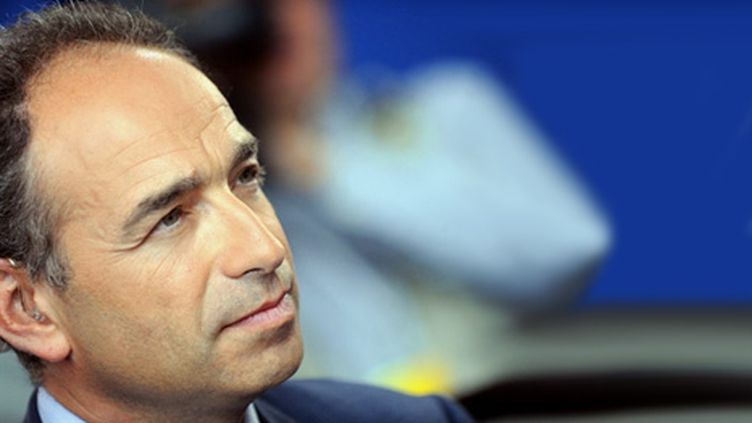 Jean-François Copé, le 23 Septembre 2010, aux journées parlementaires UMP à Biarritz (AFP/JEAN-PIERRE MULLER)