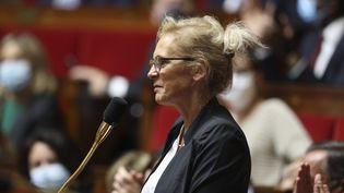 Valérie Six, députée UDI de la 7ecirconscription du Nord, le 30 juin 2020. (SEBASTIEN MUYLAERT / MAXPPP)