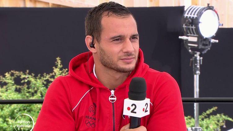 """Jeux olympiques : """"Jene lâcherai rien tant que je n'aurais pas cette médaille"""" prometSamir Aït Saïd (France 2)"""