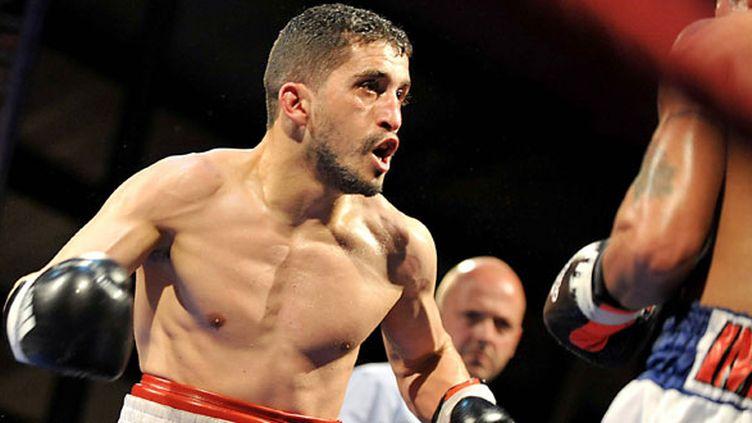 Le boxeur français Khedafi Djelkhir