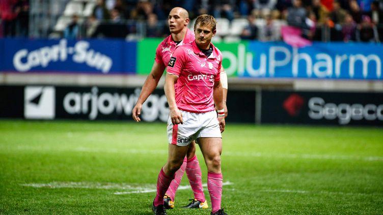Les joueurs du Stade Français Jules Plisson et Sergio Parisse (OLIVIER CORSAN / MAXPPP)