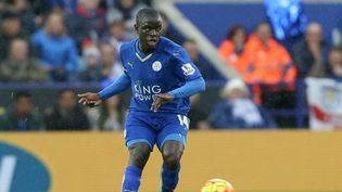 N'Golo Kante de Leicester City, lors d'une rencontre contre Manchester City, à Leicester, le 29 décembre 2015. (AFP)