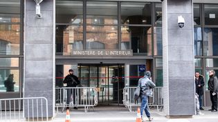 Les locaux de l'Office central de lutte contre la corruption et les infractions financières et fiscales (OCLCIFF) à Nanterre (Hauts-de-Seine), où Nicolas Sarkozy a été placé en garde à vue le 20 mars 2018. (CHRISTOPHE PETIT TESSON / EPA)