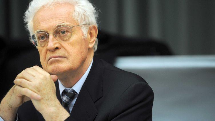 L'ex-Premier ministre Lionel Jospin lors d'un meeting à Jarville enMeurthe-et-Moselle, le 17 mars 2011. (POL EMILE / SIPA)