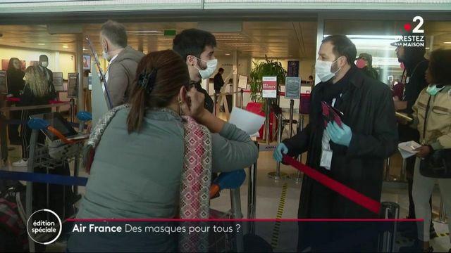Air France : des masques pour tous ?