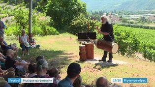 Un concert en pleine nature lors du festival de Chaillol (France 3 Provence-Alpes)