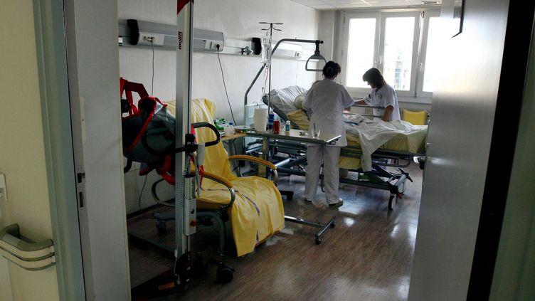 L'unité de soins palliatifs de l'hôpital Bon-Secours, à Metz (Moselle), le 2 avril 2009. (MAURY GOLINI / MAXPPP)